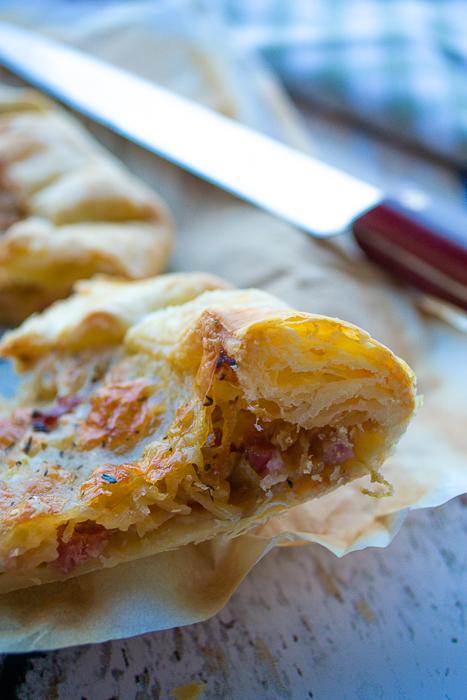 tarte oignons lardons