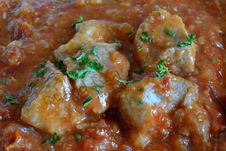 Saute de porc aux deux tomates au Micro Minute