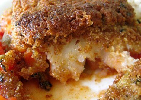 cabillaud en croute de curry1