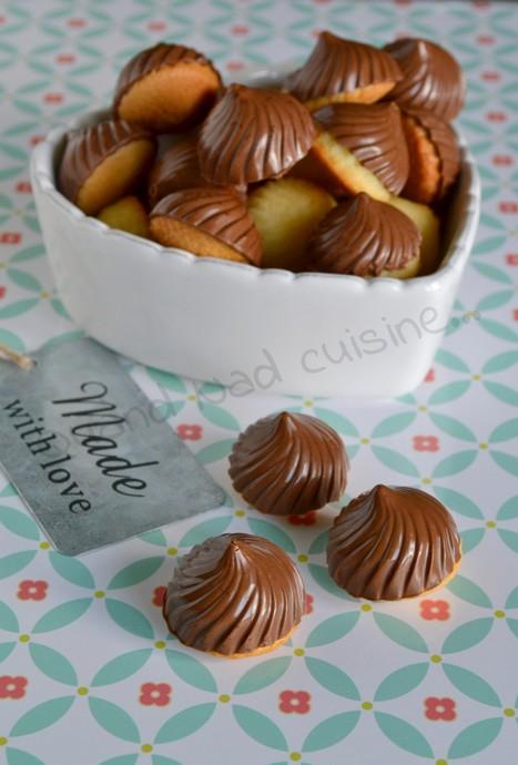 Tourbillons de quatre-quarts chocolatés
