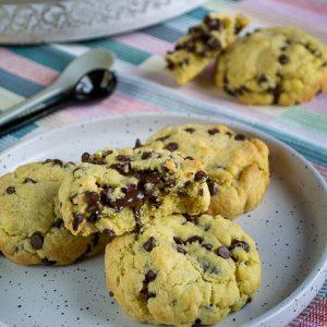 big cookies au coeur fondant