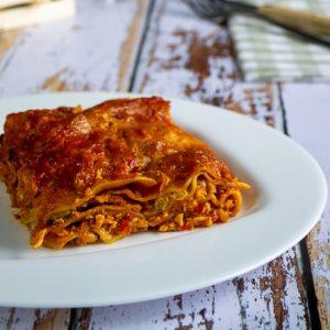 lasagnes poulet et poivrons 1