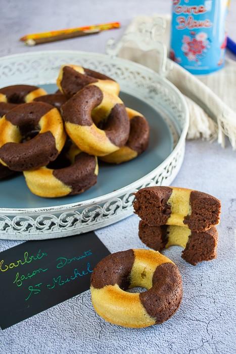 Marbrés façon donuts St Michel