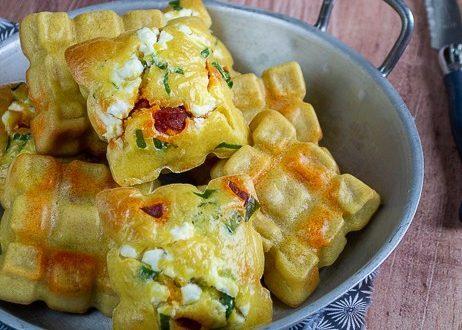 petites tablettes chorizo chevre frais et ail des ours 1