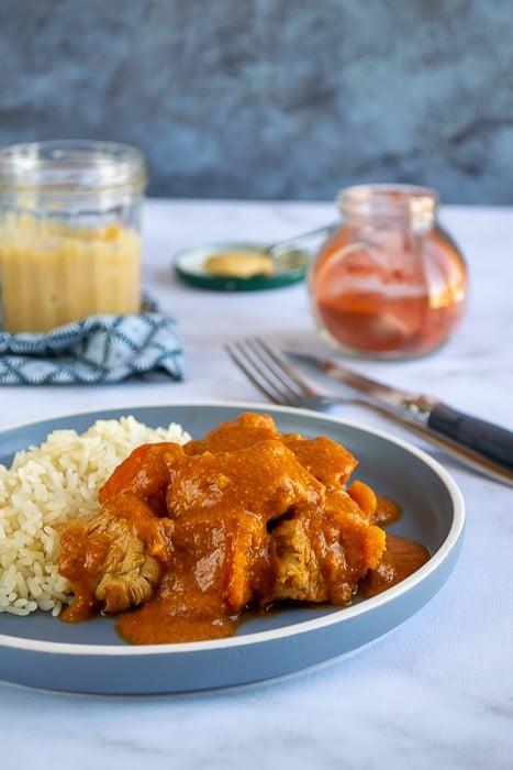 mafé de poulet