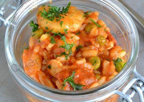 one pot rice facon paella