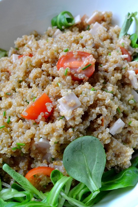 Salade de quinoa à la dinde