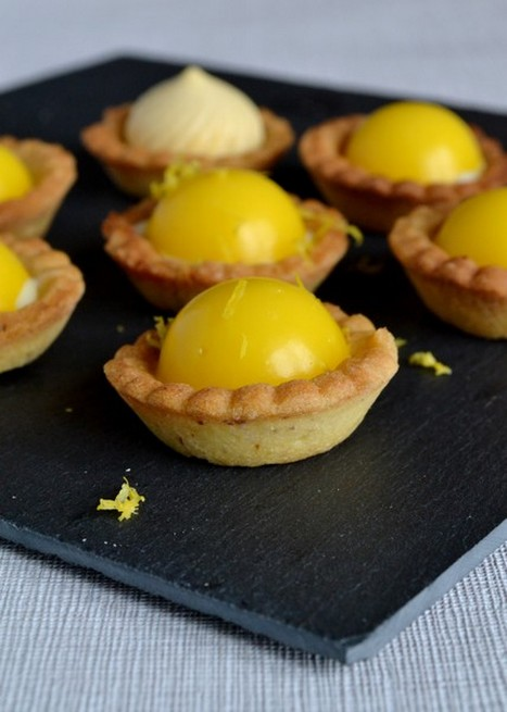Mini tartelettes citron chocolat blanc