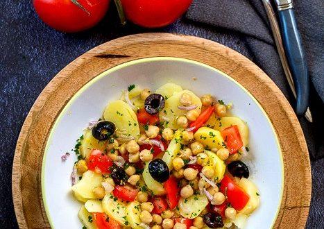 salade de pommes de terre au citron
