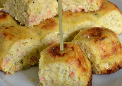 cake saumon courgettes