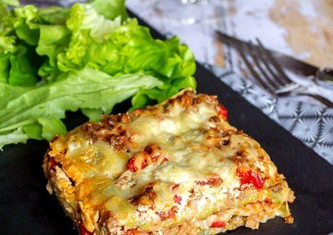 gratin de ravioles facon lasagnes
