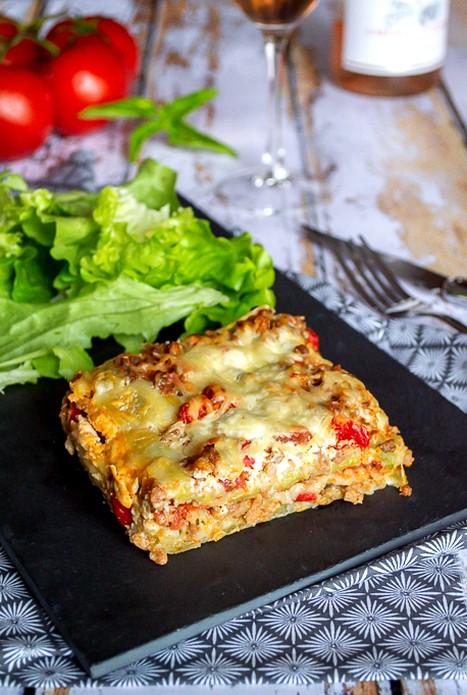 Gratin de ravioles façon lasagnes