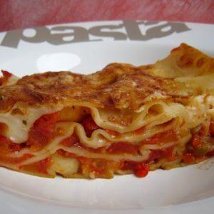 lasagnes aux legumes et au comte
