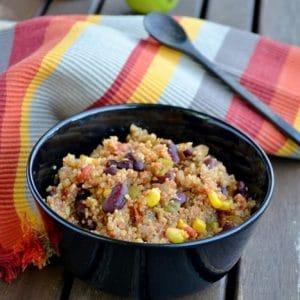 one pot quinoa mexicain