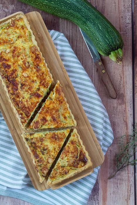 tarte thon courgette