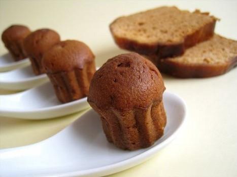 Mini-cannelés au pain d'épices