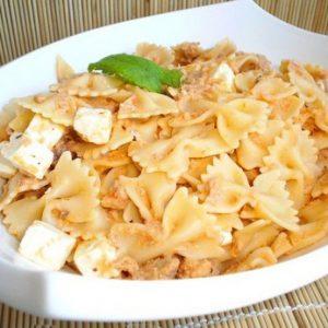 Salade de pâtes thon et feta