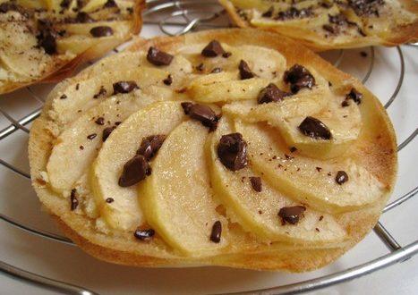 Tartelettes croustillantes aux pommes