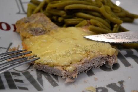 Côtes de porc à la raclette