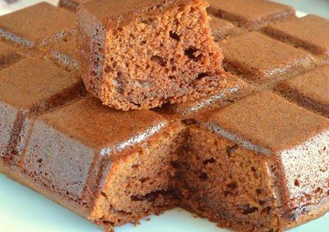 Gâteau moelleux et pire que délicieux à la pâte à tartiner