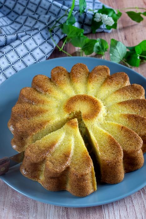 gâteau sucré à la courgette