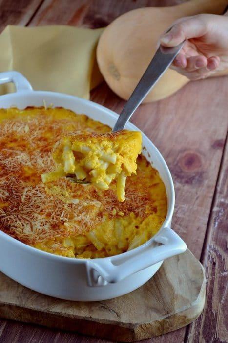 Mac and cheese à la  butternut